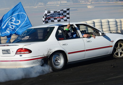 Ford Falcon burnout
