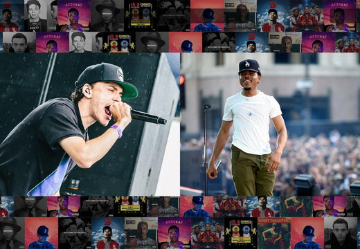 Chance The Rapper and Logic