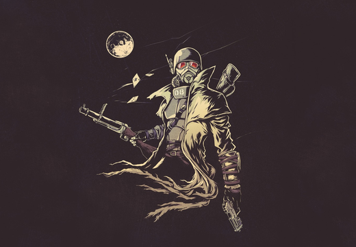 NCR Veteran Ranger - Vintage Art - PC