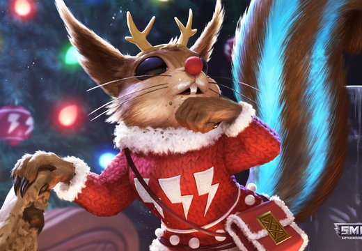 Christmas Ratatoskr