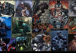 spiderman venom wallpaper marvel comics