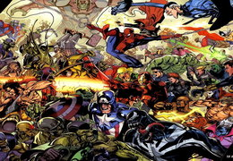 Marvel heroes collaberation wallpaper
