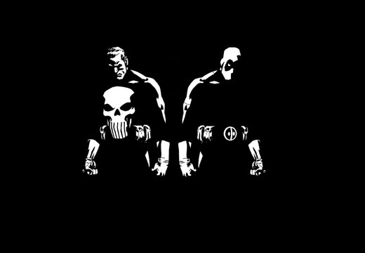 Punisher and Deadpool
