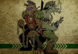 TMNT Bebop and Rocksteady