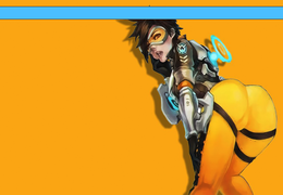 Overwatch- Tracer Booty