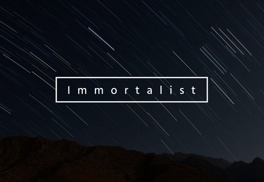 The Immortalist's banner
