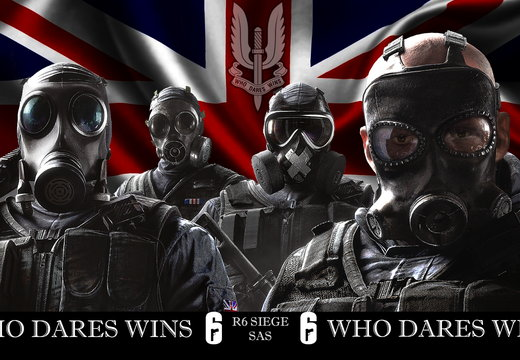 Rainbow Six Siege SAS Operators