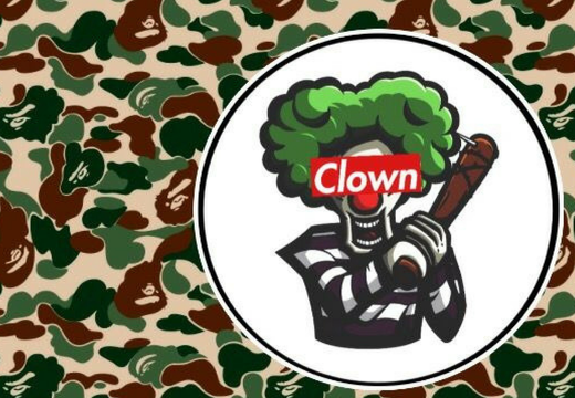Clown X Bape