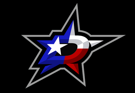 Dallas stars texas flag