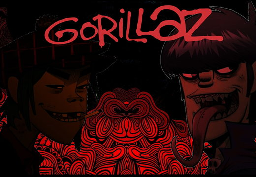 Gorillaz Murdoc and 2-D By joshiboli