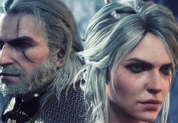 Gerald and Ciri (The Witcher)