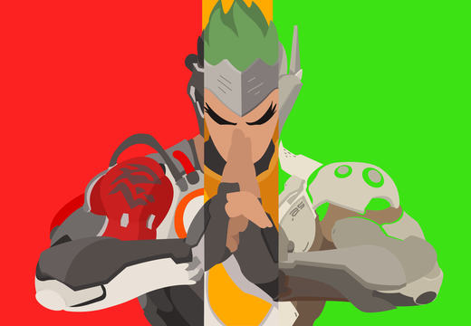 Genji Wallpaper Young/Blackwatch/Classic