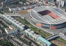 Emirates Stadium Aerial