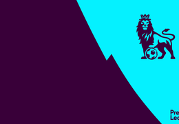 Premier League Lion (Aqua)