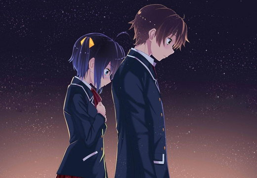 Rikka and Yuuta