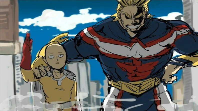 Saitama vs all might.jpg
