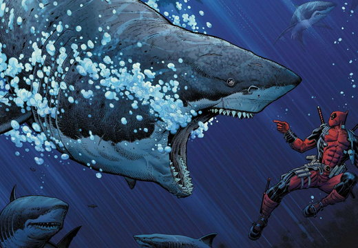 Deadpool Shark