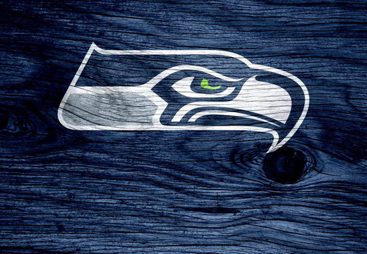 Seahawks on wood