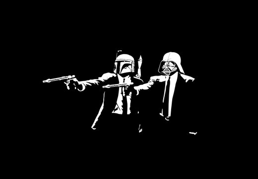 Star Wars Pulp Fiction Mash Up