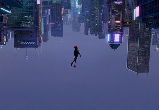 Spiderman into the spider verse(2)