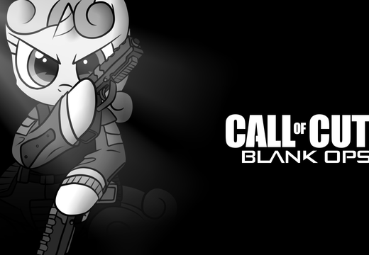 Call of cutie blank ops 2 - mlp