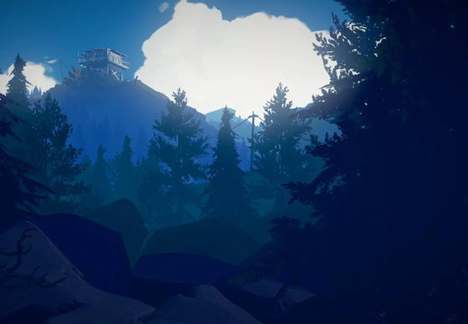 Firewatch - Tower - Dawn