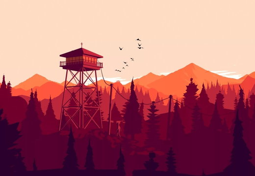 Firewatch - Tower