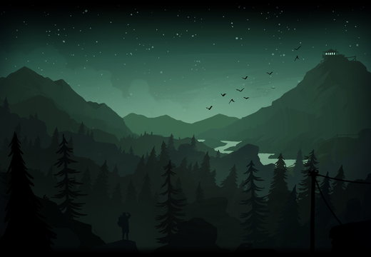 Firewatch - Night