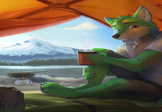 Furry Camping
