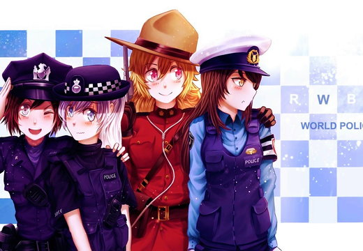 RWBY Team RWBY World Police