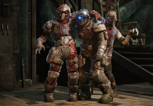 Gears of war Carmine family