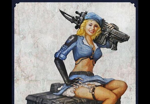Gears of war pin-up