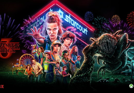 Stranger Things 3 official XBOXWallpaper