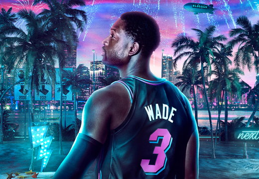 Dwayne Wade NBA2K20 Wallpaper