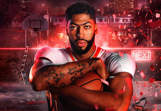 Anthony Davis NBA2K20 Wallpaper