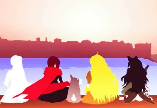 RWBY Team RWBY Volume 2 Group Up