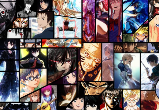 Anime collage