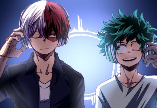 Todoroki and deku