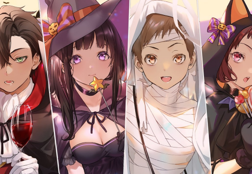 Hyouka Halloween (By @mery__S2_ on Twitter)